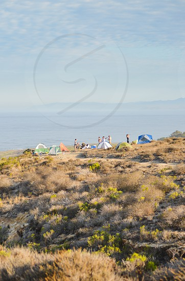 camping tent campout  photo