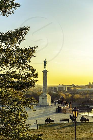 Victor Kalemegdan fortress Belgrade Serbia Europe photo