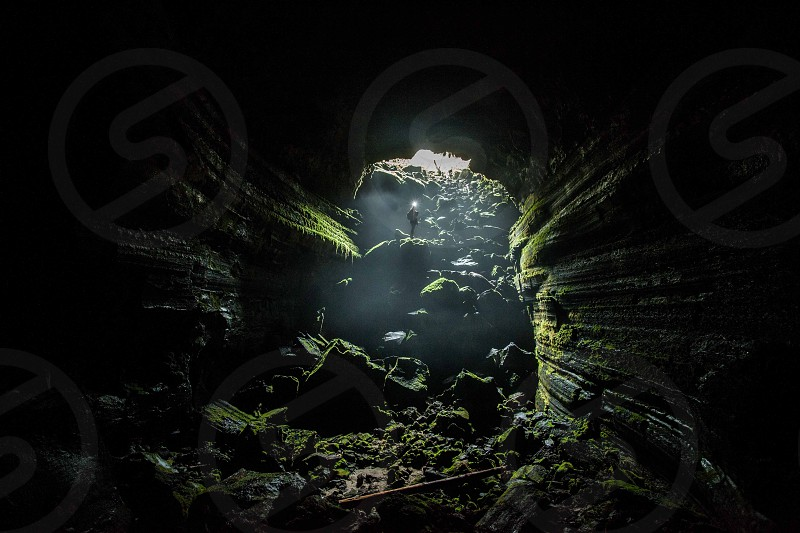Caving in Washington photo