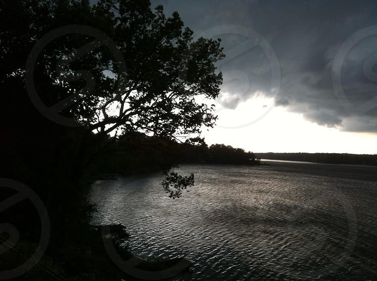At the lake house photo