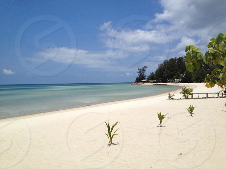 Tropical beach vacation holiday relax resort Thailand island photo