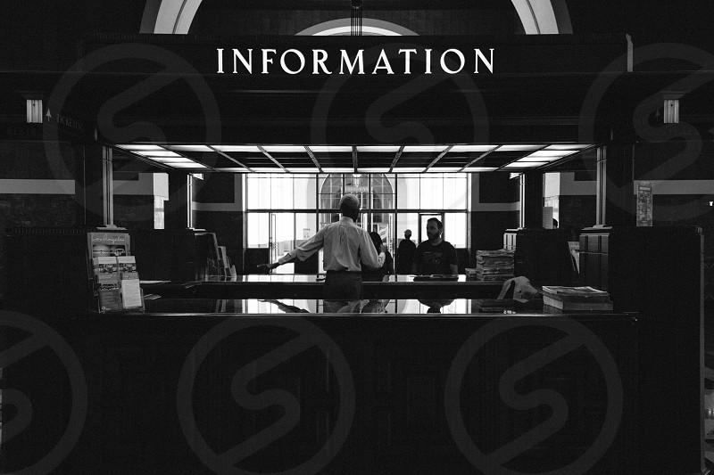 information station photo