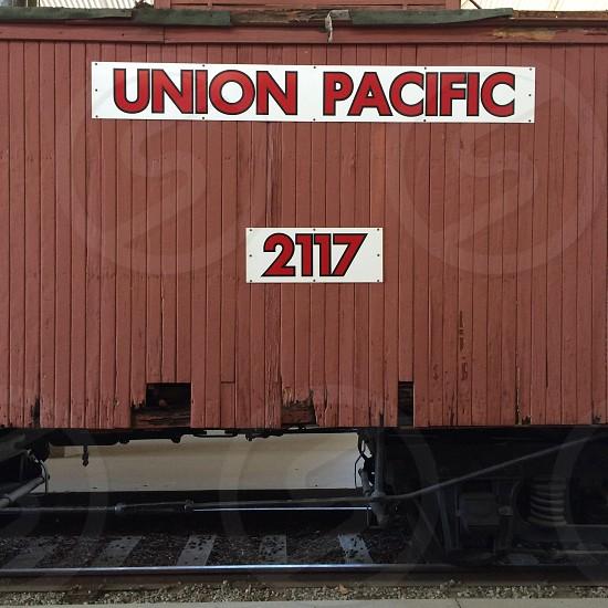 union pacific 2117 train photo