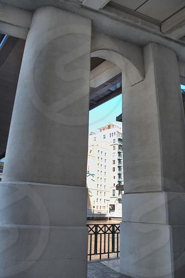 Under the bridge. photo