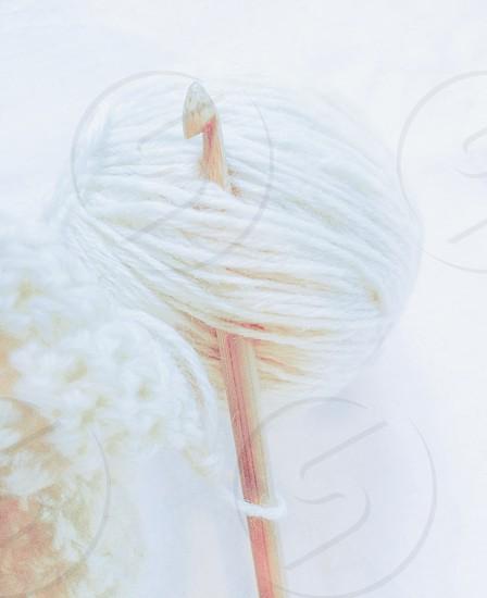white thread photo