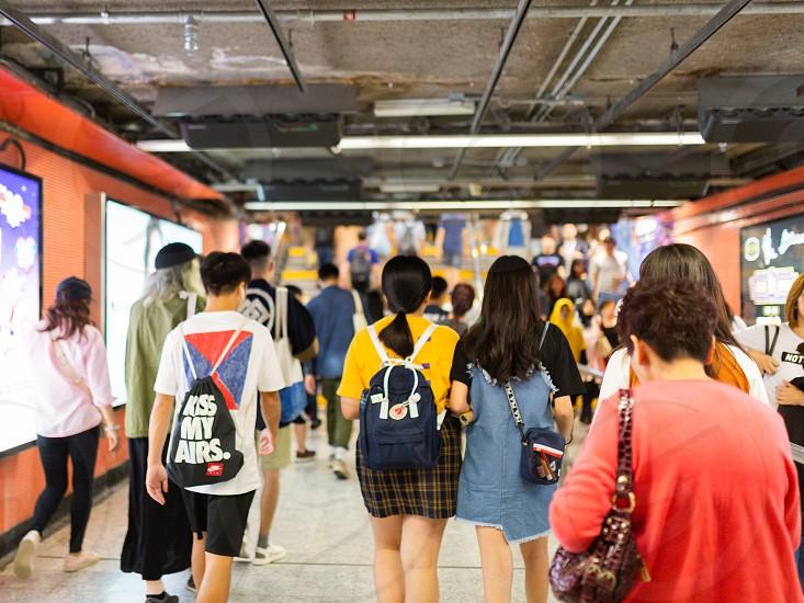 Hong Kong Mong Kok MTR public transportation system photo