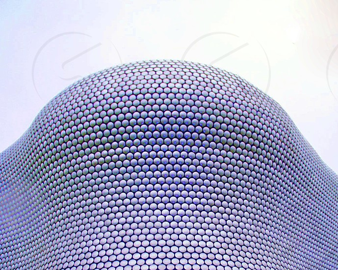ENGLAND. The Bullring Birmingham the tiled exterior of part of the shopping centre. photo