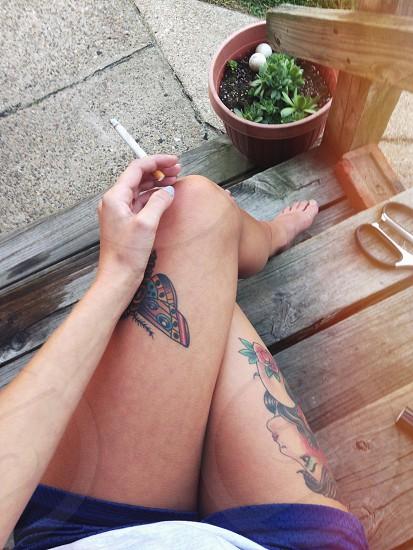 Relaxing  photo