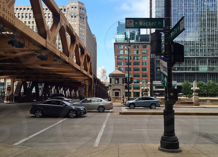 Chicago: Wacker/Wells photo