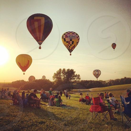 Hot Air balloon festival photo