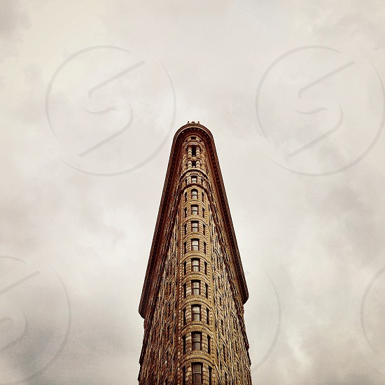 brown tall building photo