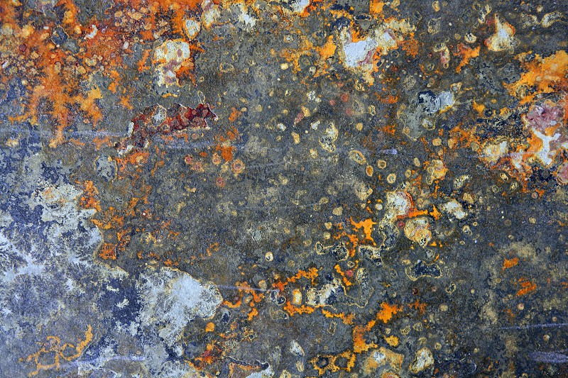 Slate stone background texture rusty orange and gray photo