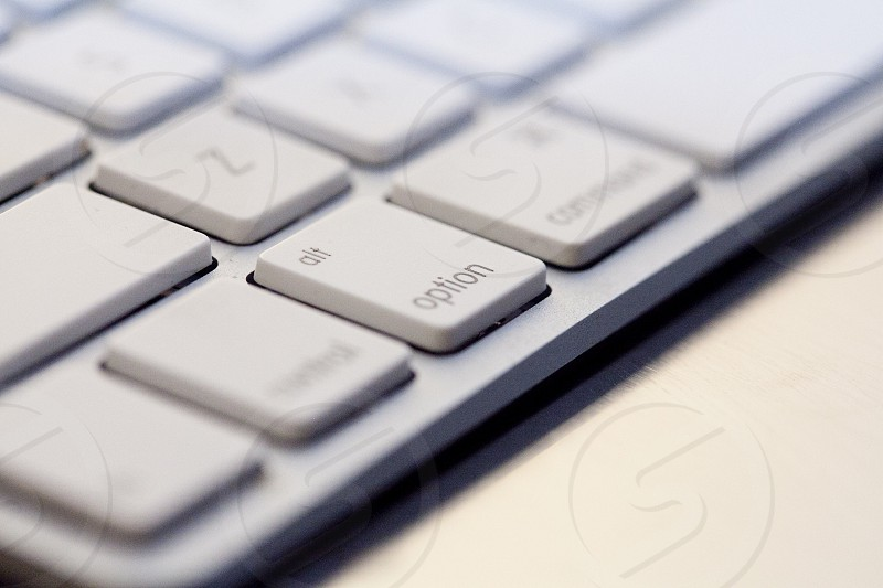 close up photo of wireless apple keyboard photo