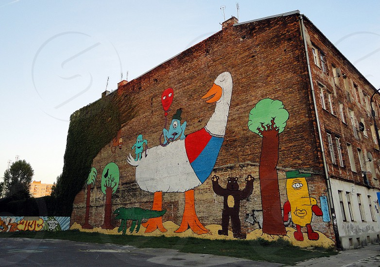 Murales in Praga (Warsaw) photo