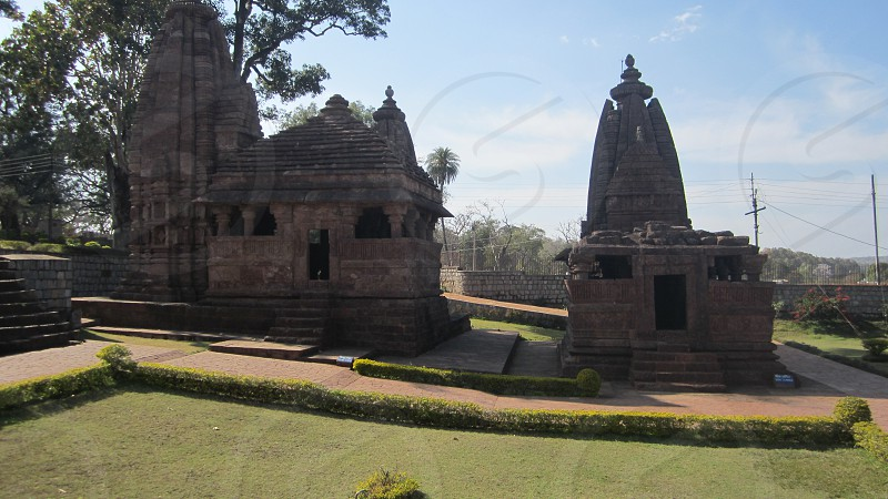 India Ancient Ruin Old Temple Amarkantak Archaeological Site Religion Asia Hinduism   photo