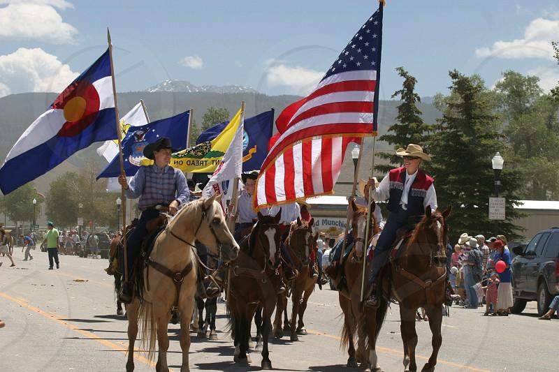 Grandby Colorado 4th of July parade  photo