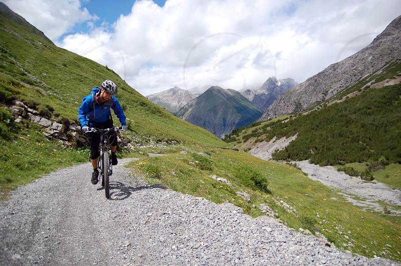 mountain bike biking cycling outdoor mtb photo
