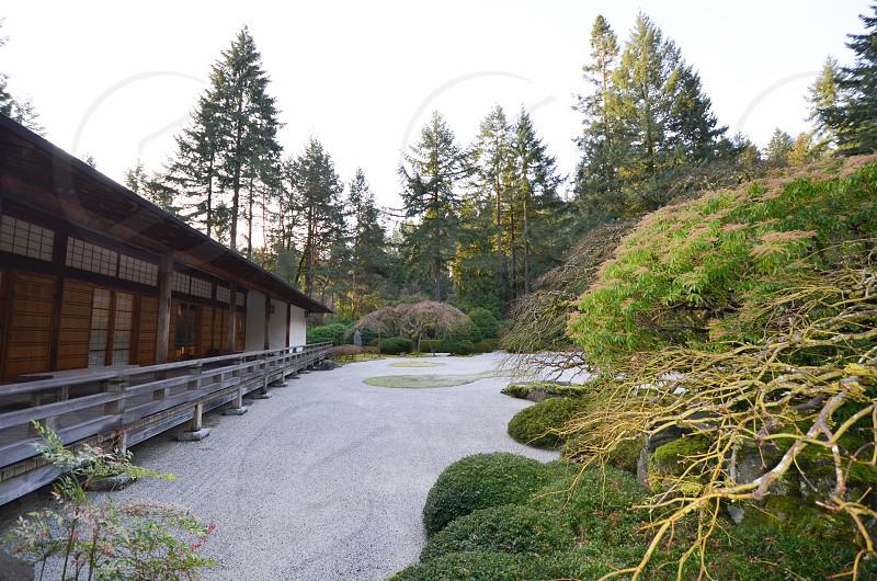 Portland Japanese Garden Portland Oregon photo