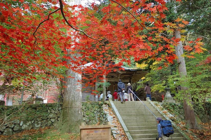 石龕寺の紅葉 photo