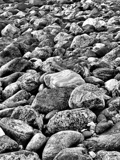 malibu rocks photo