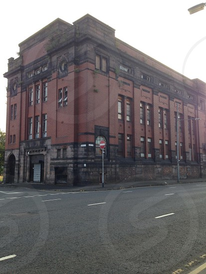 Glasgow derelict building photo
