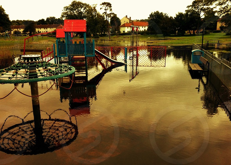 Flooded Playpark photo