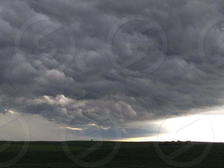 Storm brewing in Northeast Nebraska photo