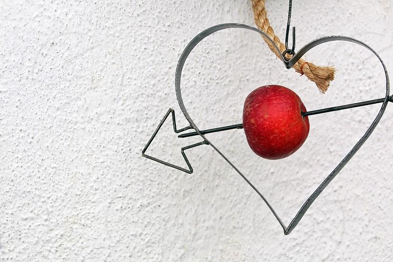red apple fruit photo