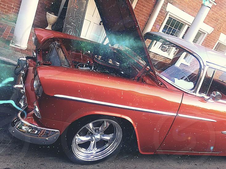 Car classic antique photo
