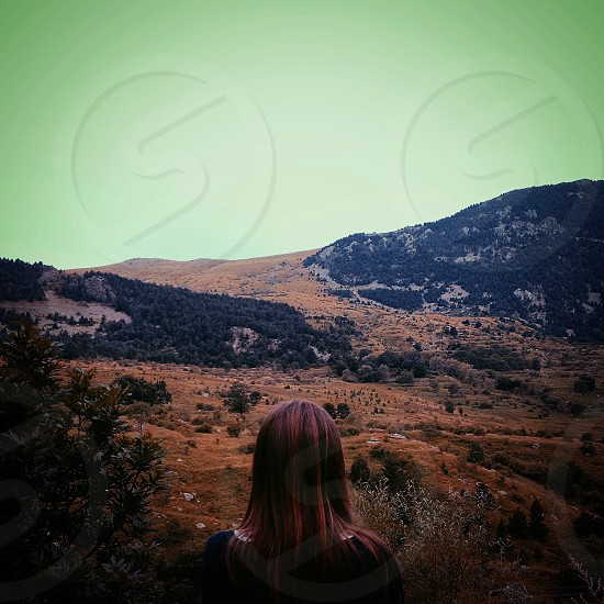 Mountain vall de boí catalonia photo