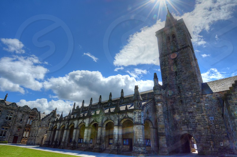 University of St. Andrews in St. Andrews Scotland. photo
