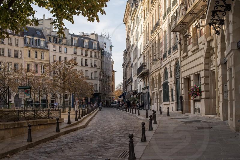 Streets of Paris photo