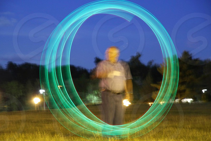 Circle fun with Shutter Priority. photo
