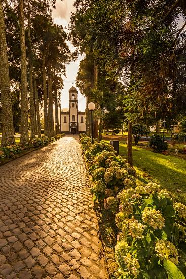 Church of São Nicolau Sete Cidades Island of São Miguel Azores photo