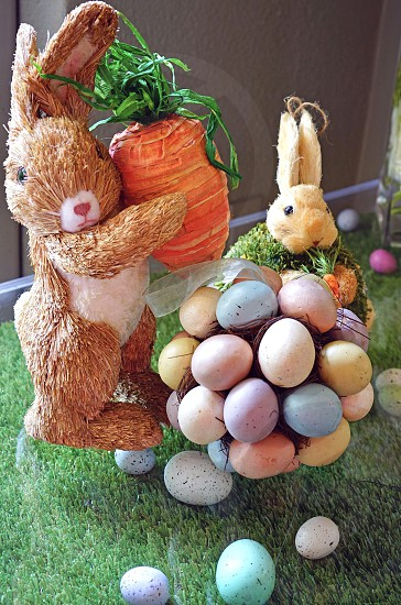 Easter egg bunny rabbit holiday tradition Easter egg photo
