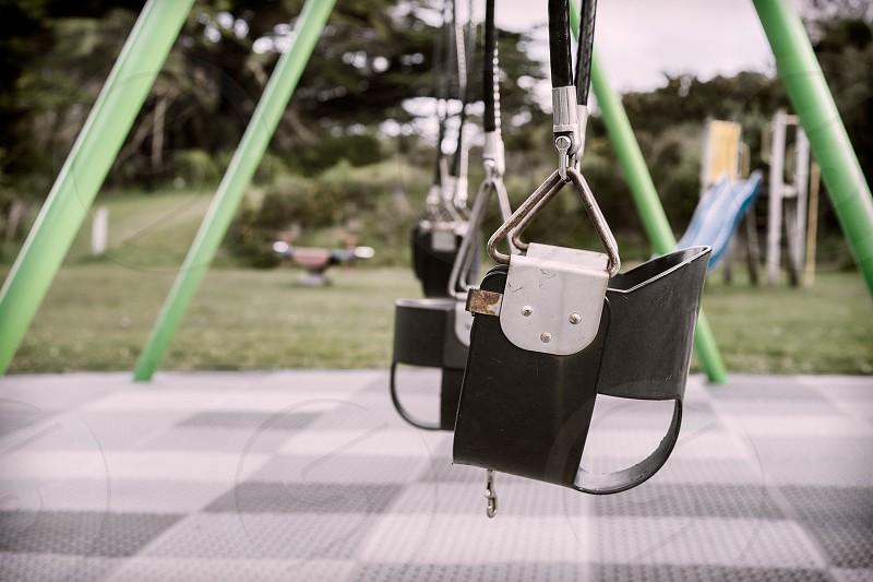 empty swing photo