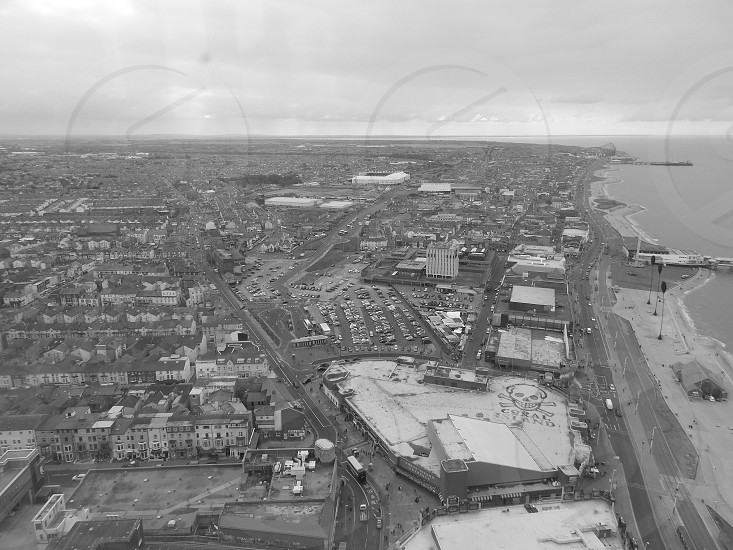 Liverpool taken from the Blackpool Tower photo
