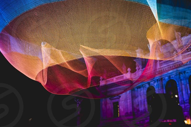 colours night prague rudolfinum signal festival installation art light photo