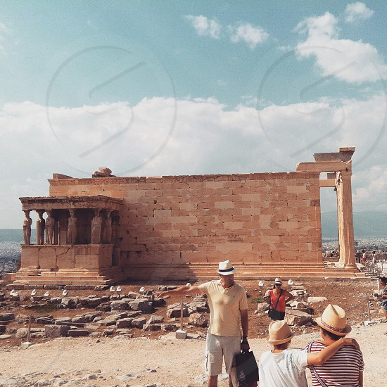 Acropolis Athens Greece. photo