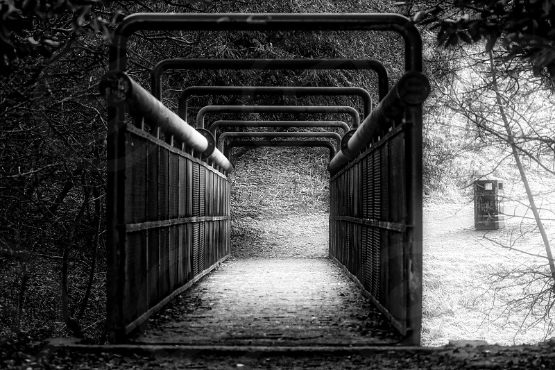Iron bridge photo