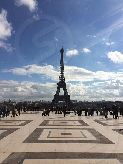 The beautiful and amazing Eiffel Tower  photo
