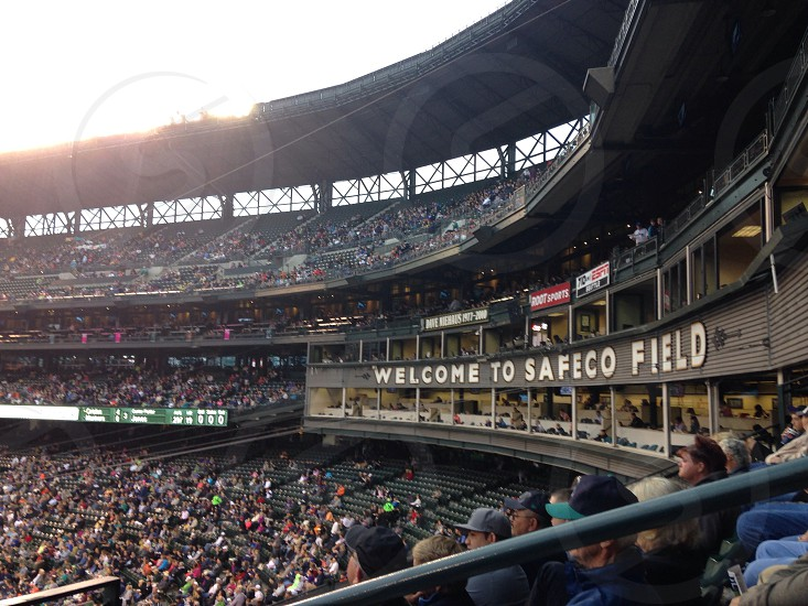 Welcome To Safeco Field stadium photo