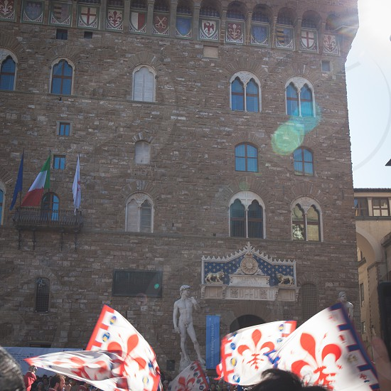 Palazzo Vecchio in Florence Italy photo