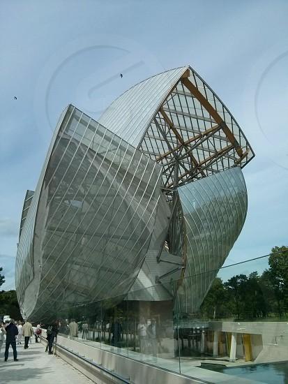 Fondation Louis Vuitton museum  Paris  France photo