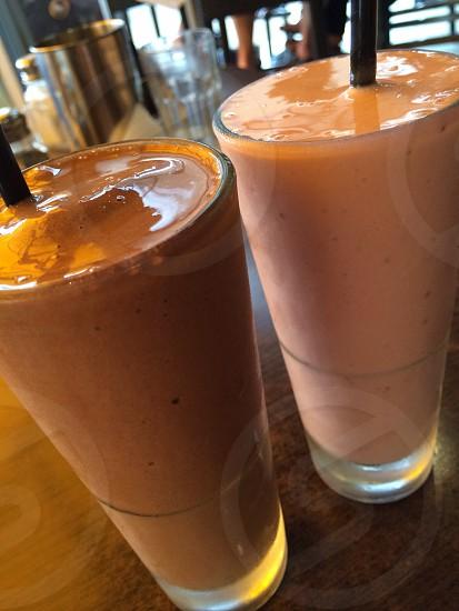 Milk shakes photo