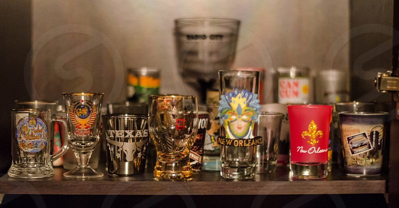 Shot glasses  photo