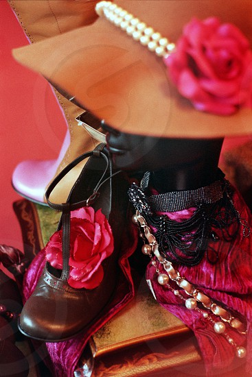 Mannequin and fashion details photo