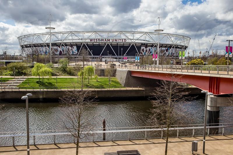 Athletics Stadium Olympic Park Stratford London photo