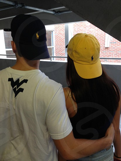 His and hers WVU pride photo