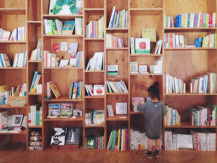 Reading Books. photo